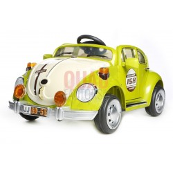 GREEN BEETLE - 12V KIDS' ELECTRIC RIDE ON CAR