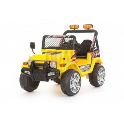12V 2 SEATER 4X4 TRUCK JEEP (YELLOW)