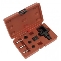 Heavy-Duty Motorcycle Chain Splitter & Riveting Tool Set