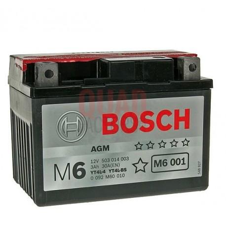 Battery Bosch 12V YT4L-BS / YTX4L-BS