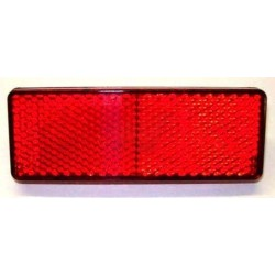 RED REFLECTOR 95x36mm
