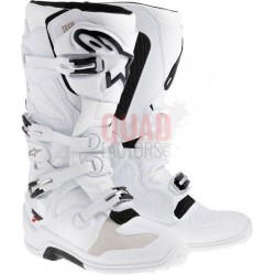 TECH-7 WHITE ALPINESTAR BOOTS MOTOCROSS