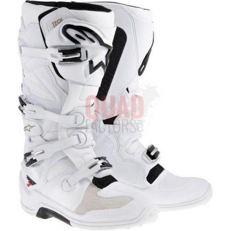 TECH-7 WHITE ALPINESTAR BOOTS MOTOCROSS